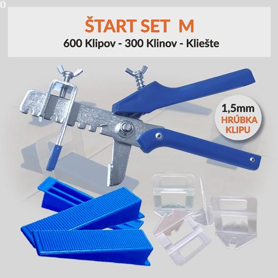 Nivelačný štartovací set Eko M 1,5 mm, 1 kus
