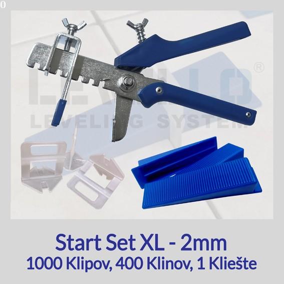 Nivelačný štartovací set Eko XL 2 mm, 1 kus